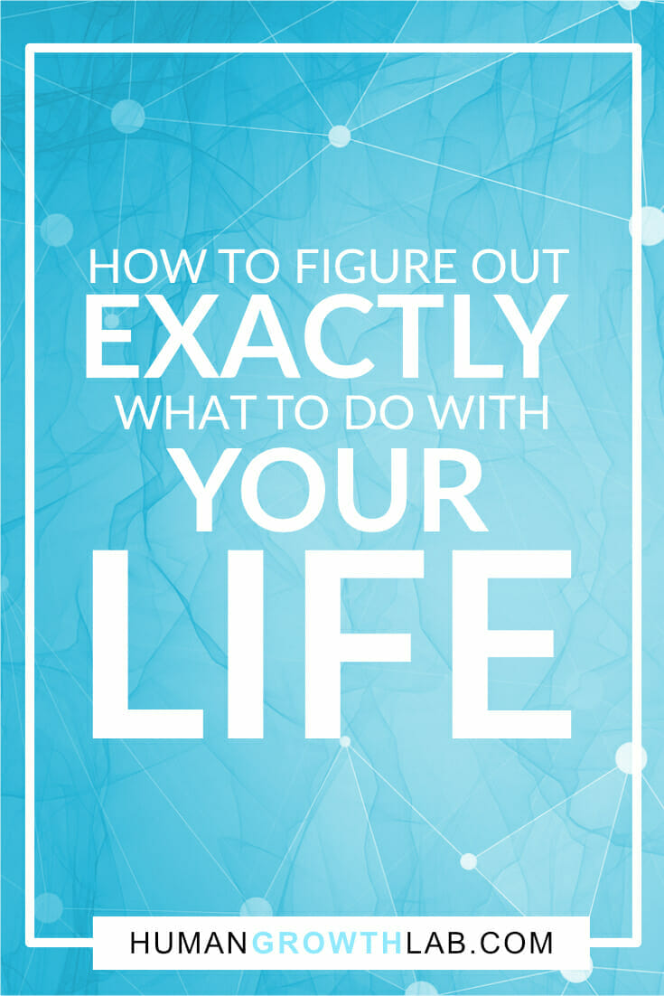 """Are you sat there thinking, """"I don't know what to do with my life""""? This post takes you through the exact steps you must take to figure out what to do with your life. Don't get stuck! These steps will show you EXACTLY what to do! #dreamlife #lifetips #jobs via @humangrowthlab"""